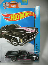 Hot Wheels 1:64-2015 HW City - Performance -'71 El Camino-  Black - 18/250