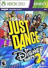 NEW Just Dance Disney Party 2 XBOX 360 Kinect Kids Game *SEALED*