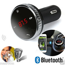 Wireless Bluetooth LCD FM Transmitter Modulator Auto Kit MP3 Player SD w/Remote