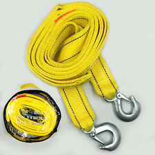 Car Powerful Double Thick Nylon 4M 5T Trailer Rope Towing Rope Hauling Rope Belt