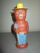 Vintage Soaky Bottle Smokey The Bear 8.5""