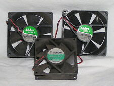 SUNON KDE2408btb-3A DC 24V 2,4W  Cooling Fan 24 VDC and 2 others Nidec used
