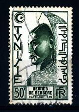 TUNISIA - 1950-1951 - Berber Hermes a Cartagine