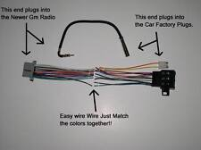 New Factory Radio Stereo Installation Delco 16140051 Wire Wiring Harness Adapter