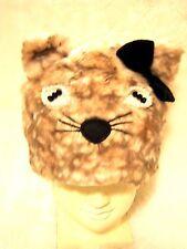Caldi comodi in pile in pelliccia sintetica perle perline Kitty Cat Gattino Cappello Costume Cosplay