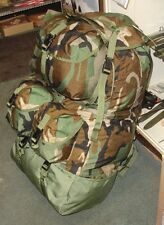 NEW MILITARY EQUIPMENT BACK PACK MOUNTED CREWMAN COMPARTMENTALIZED ARMY SURPLUS