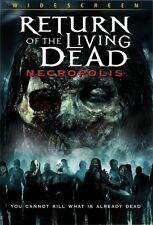 Return of the Living Dead 4: Necropolis (2006, DVD NEUF) WS
