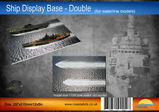 Ship Display Base - Double - for waterline models