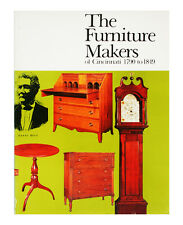 The Furniture Makers of Cincinnati 1790-1849 (Paperback 1976) by Jane E. Sikes