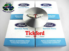 "GENUINE FORD / TICKFORD ALLOY CENTER WHEEL CAP AU XR6 XR8 FOR 17"" RIMS (4) N O S"