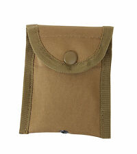 Compass Pouch Small Utility MOLLE Compatible Coyote Brown Snap Pouch Rothco 458