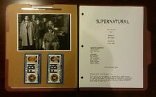 "SAM & DEAN WINCHESTER ""SUPERNATURAL"" POLICE FILE: 10 REPLICA PROP LOT"