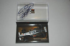 Minichamps F1 1/43 McLaren Mercedes MP4/14 David Coulthard West firmado autógrafo