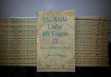 The World Under My Fingers: Personal Reflections on Braille Lot of 43 Books 2nd