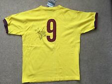 Johan Cruyff Barcelona Away signed  shirt UACC Registered Dealer AFTAL COA