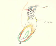 THE MOTH AND THE FLAME, 1938 - CLARK GABLE - ANIMATION DRAWING - SILLY SYMPHONY