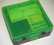 MTM Case Gard™ New MTM Plastic Ammo Box 100 Round 44 MAG P100-44-16T Black/Green