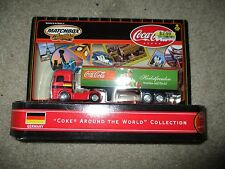 Matchbox Collectibles Coca Cola Coke Around The World Truck Germany 2000 NIP