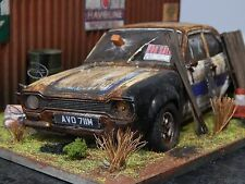 "1/18 MK1 FORD ESCORT RS2000 AVO BARN FIND DIORAMA CODE 3  ""ANDREW GREEN"" MKI"