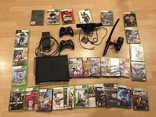 Microsoft Xbox 360 120 GB, KINECT MOTION,  2-CONTROLLERS, 31 GAMES
