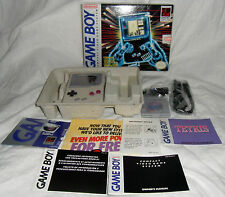 Nintendo Game Boy System Original Tetris Bundle Complete BEAUTIFUL! CIB DMG-01