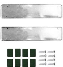 2 x Chrome Car Number Plate Holders Frames Surrounds