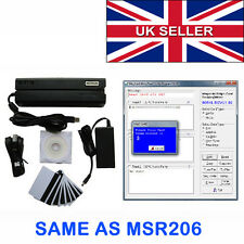 MSR 606 magnetica Card Reader Writer Msr206 msr609 MAG tocco CARD Codificatore