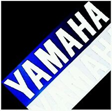 Yamaha REFLECTIVE WHITE 23in 58.4cm racing decals fazer r1 r6 yzf big graphics