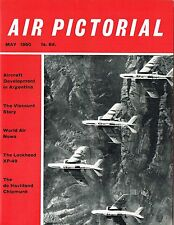 AIR PICTORIAL MAY 60: Bf.109 HISTORY Pt.2/ CHIPMUNK AIR TEST/ VISCOUNT STORY
