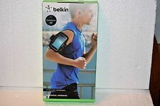 "Belkin Universal Black Armband for Smartphone 5.5"" New in Box - FREE SHIPPING"