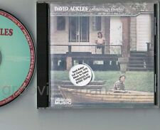 DAVID ACKLES American Gothic CD CCM-311-2 w/PS+PROMO STICKER Elton John B.Taupin