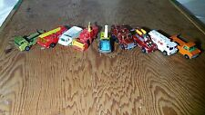VINTAGE TOY CAR LOT 9 TOTAL – SOME RARE AND HIGHLY COLLECTIBLE – SEE DESCRIPTION