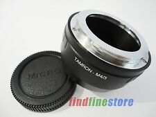 Adapter for Tamron Adaptall 2 AD2 Lens to Micro 4/3 M4/3 E-PL2 E-PM1 G1 G2 + CAP