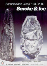 Scandanavian Glass Book SMOKE & ICE Orrefors Kosta iittala
