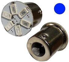 2x ampoule P21W R5W R10W 12V 6LED SMD bleu base 1156