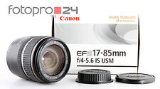 Cannon EF-S 17-85 mm 4-5.6 IS USM + OVP + bene (236840)