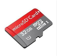 32GB Micro SD Card TF Flash Memory Card MicroSD MicroSDHC Free Adapter Class 10