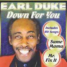 Earl Duke - Down for You - New Factory Sealed CD