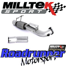 "Milltek Focus RS MK3 2016 on 3"" Largebore DeCat Downpipe Exhaust & Connect Pipe"