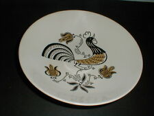 Royal China USA  Rooster GOOD MORNING Round Vegetable Bowl