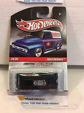 #1  Deco Delivery * Black * Delivery Garage Hot Wheels * H20