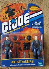 GI Joe LOW-LIGHT & SURE FIRE 2-PACK (Hasbro 2001) MOC