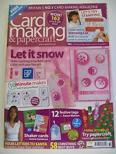 Magazine. Card Making & Papercraft. Issue 33. Christmas 2006. 10 Minute Makes.