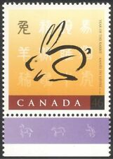 Canada 1999 YO Rabbit/Animals/Nature/Zodiac/Fortune/Greetings 1v (n44502)