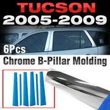 Chrome PVC B Pillar Garnish Molding Trim A627 For HYUNDAI 2005-2008 2009 Tucson