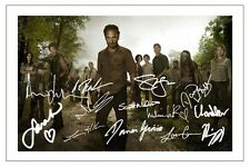 THE WALKING DEAD CAST AUTOGRAPH SIGNED PHOTO PRINT SEASON 3