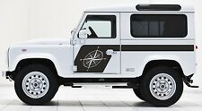 LAND ROVER DEFENDER 90  Aftermarket COMPASS DECAL Sticker SET