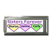 Italian Charms Custom Made Sisters forever superlink