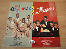 the olympics meet the marathons 1983 uk ace label vinyl compilation lp  doo wop