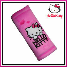 Safety Belt Pads ❀ Genuine Disney ❀ Car Seat Belts Cover for Kids ❀ Hello Kitty